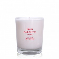 bougie fraise gariguette